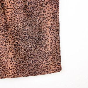 Skirts - Cheetah Print Skirt with Pockets